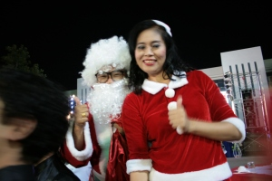 Thai Mr & Mrs Claus