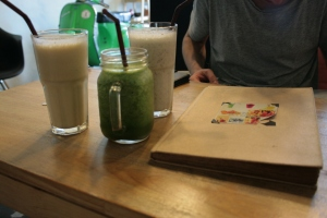 Dem mean greens and other treats @ Juice Café, Phuket Town
